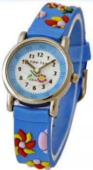 Тик-Так H101-2 голубые цветы