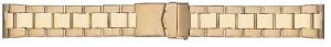 Браслет д/часов Inox Plus M-402-18G